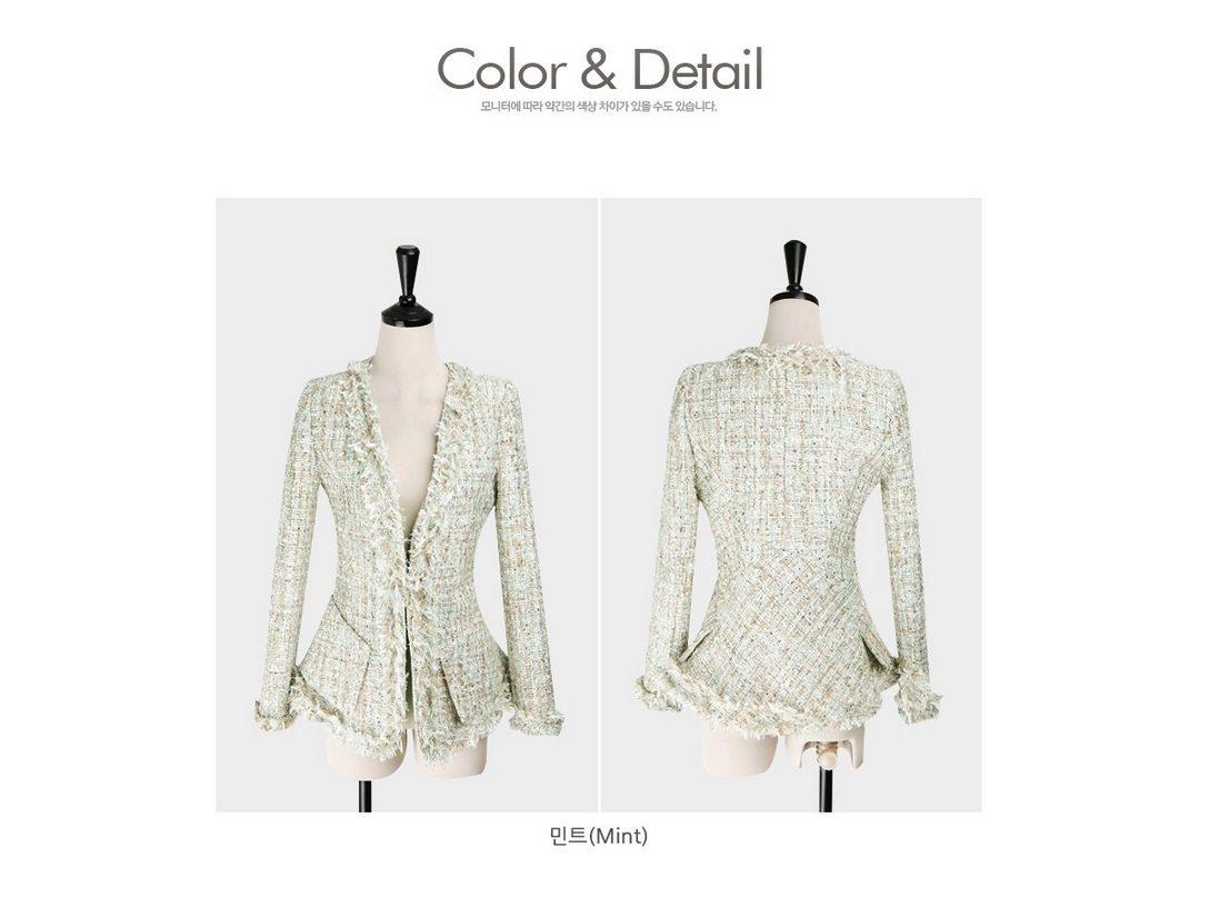 Fairy Tweed Jacket Korean fasion 2015 online shop malaysia singapore brunei indonesia china10