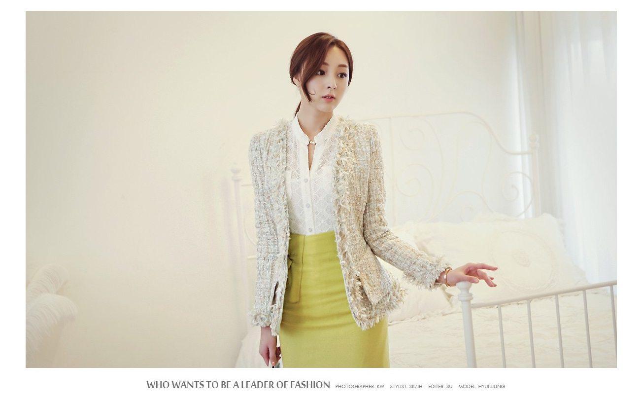 Fairy Tweed Jacket Korean fasion 2015 online shop malaysia singapore brunei indonesia china1