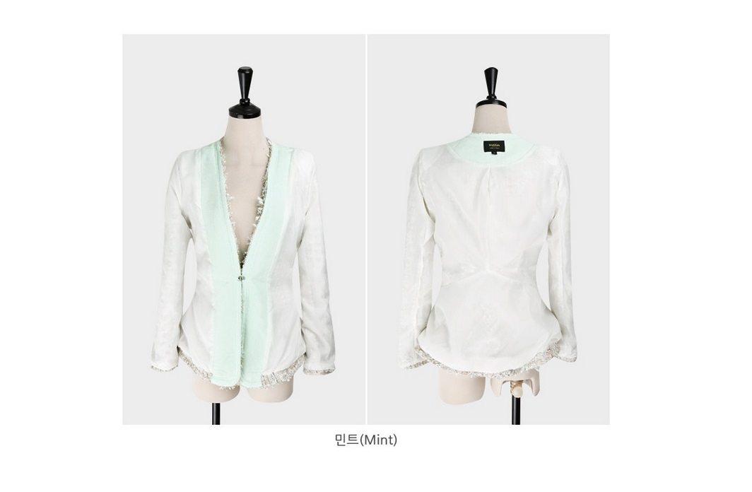 Fairy Tweed Jacket Korean fasion 2015 online shop malaysia singapore brunei indonesia china11