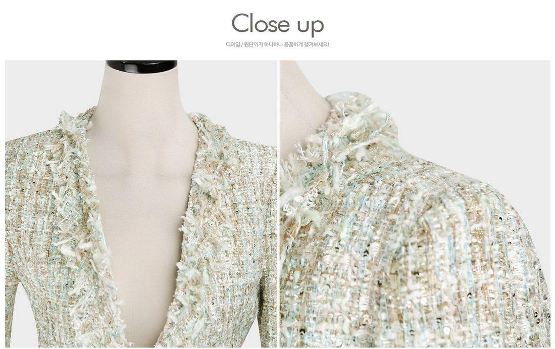 Fairy Tweed Jacket Korean fasion 2015 online shop malaysia singapore brunei indonesia china12