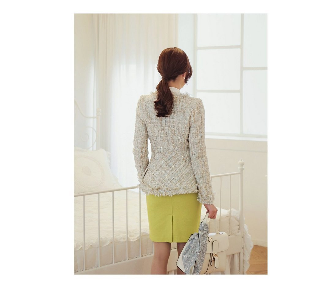 Fairy Tweed Jacket Korean fasion 2015 online shop malaysia singapore brunei indonesia china7