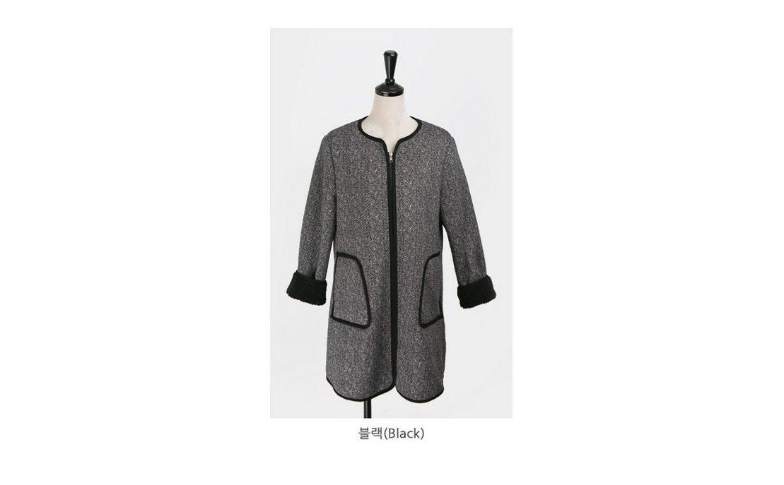 Herringbone Wool Coat Korean fasion 2014 online shop malaysia singapore brunei indonesia china10