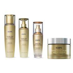 IOPE Super Vital Special Set 4 pcs 390ml malaysia korean cosmetic skincare shop
