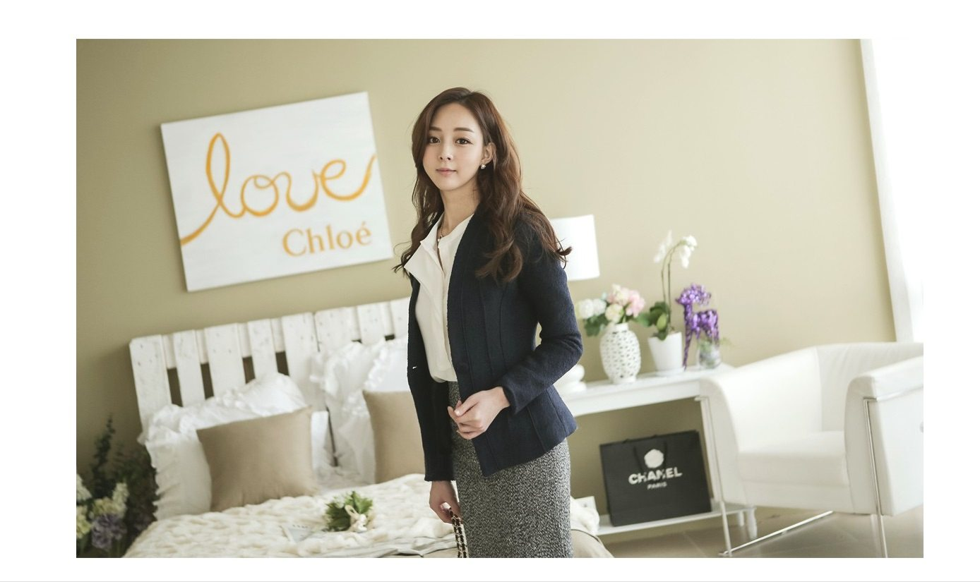 Incision Line Wool Jacket Korean fasion 2014 online shop malaysia singapore brunei indonesia4