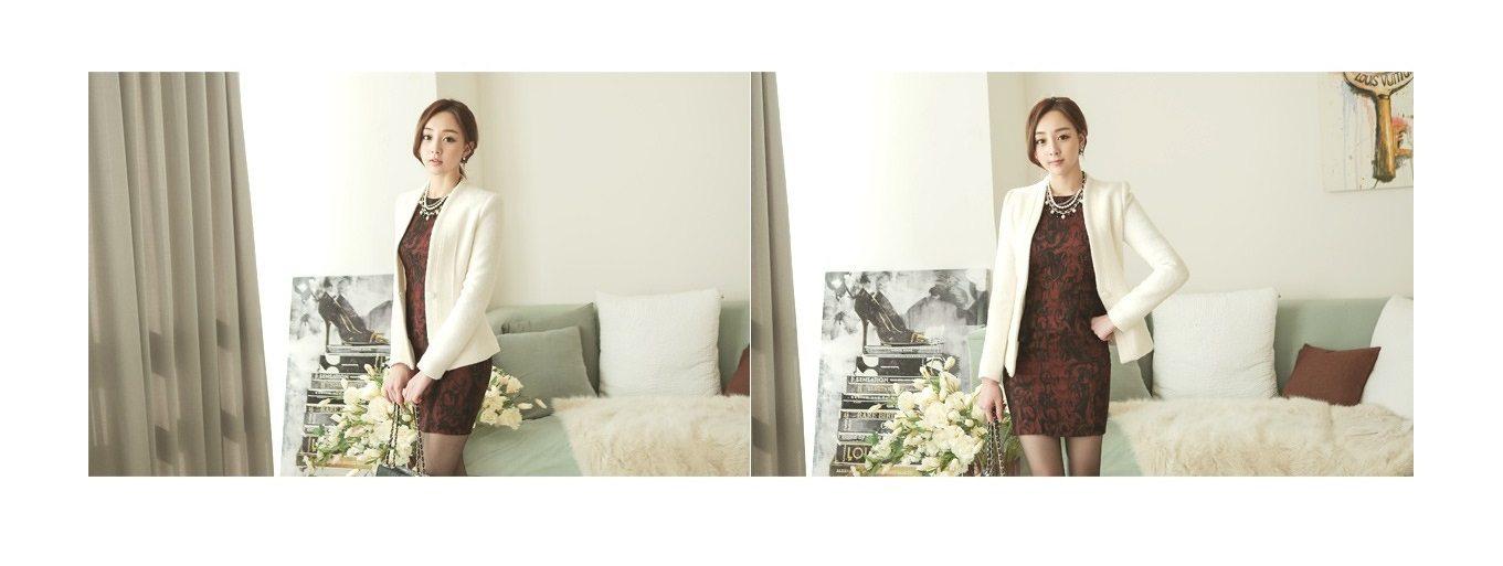 Incision Line Wool Jacket Korean fasion 2014 online shop malaysia singapore brunei indonesia7