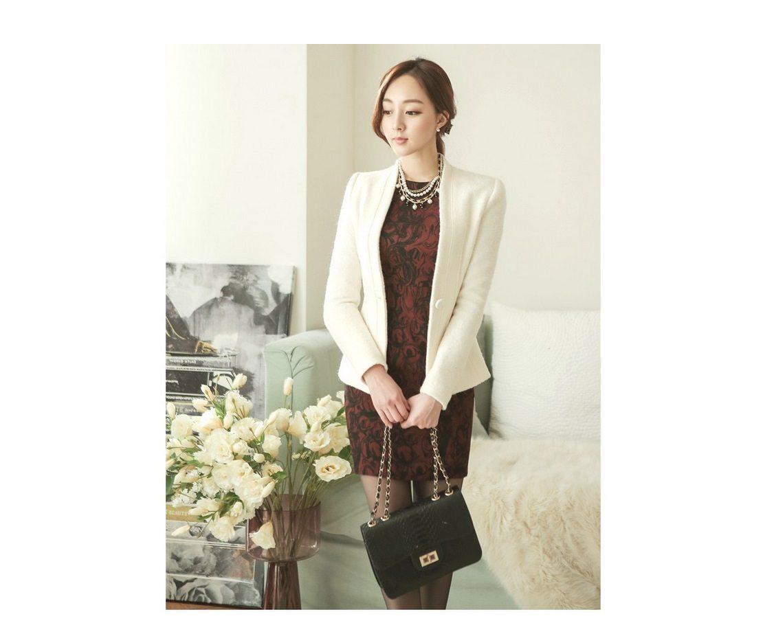 Incision Line Wool Jacket Korean fasion 2014 online shop malaysia singapore brunei indonesia8