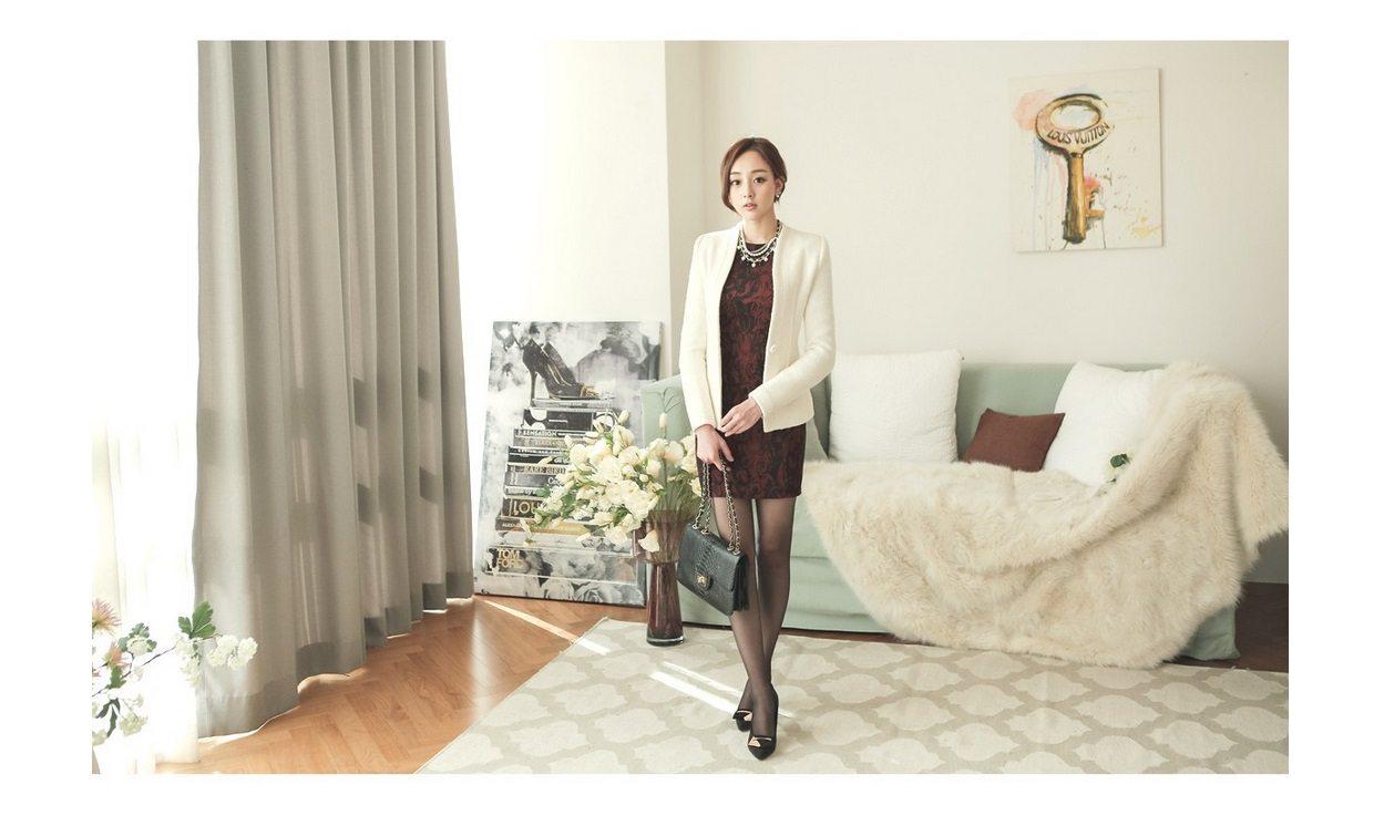 Incision Line Wool Jacket Korean fasion 2014 online shop malaysia singapore brunei indonesia9