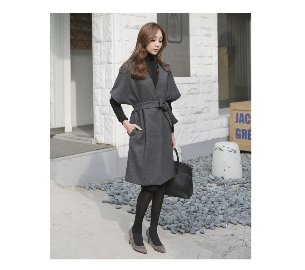 Kale Stingray Belt Coat Korean fasion 2014 online shop malaysia singapore brunei indonesia china3