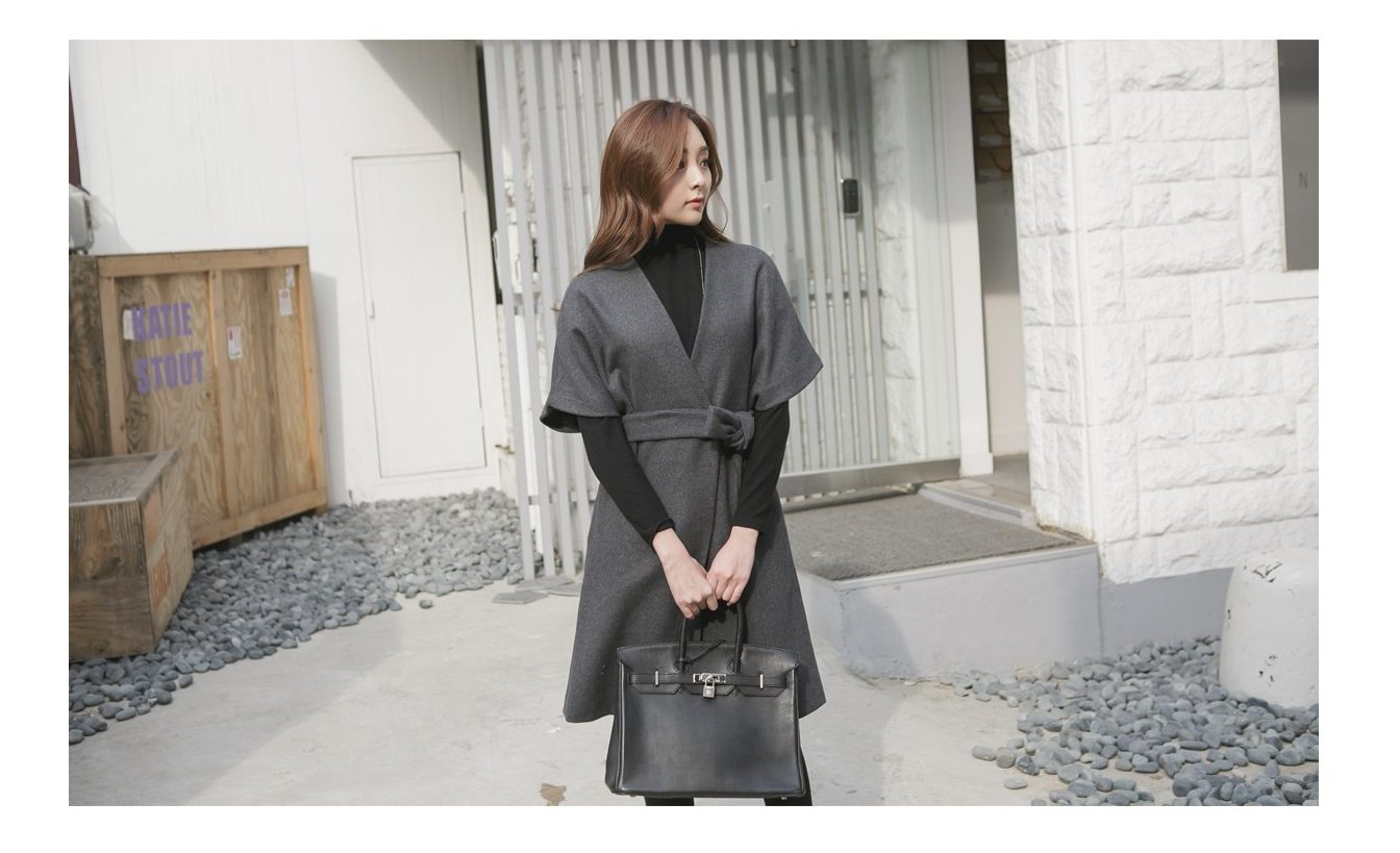 Kale Stingray Belt Coat Korean fasion 2014 online shop malaysia singapore brunei indonesia china4