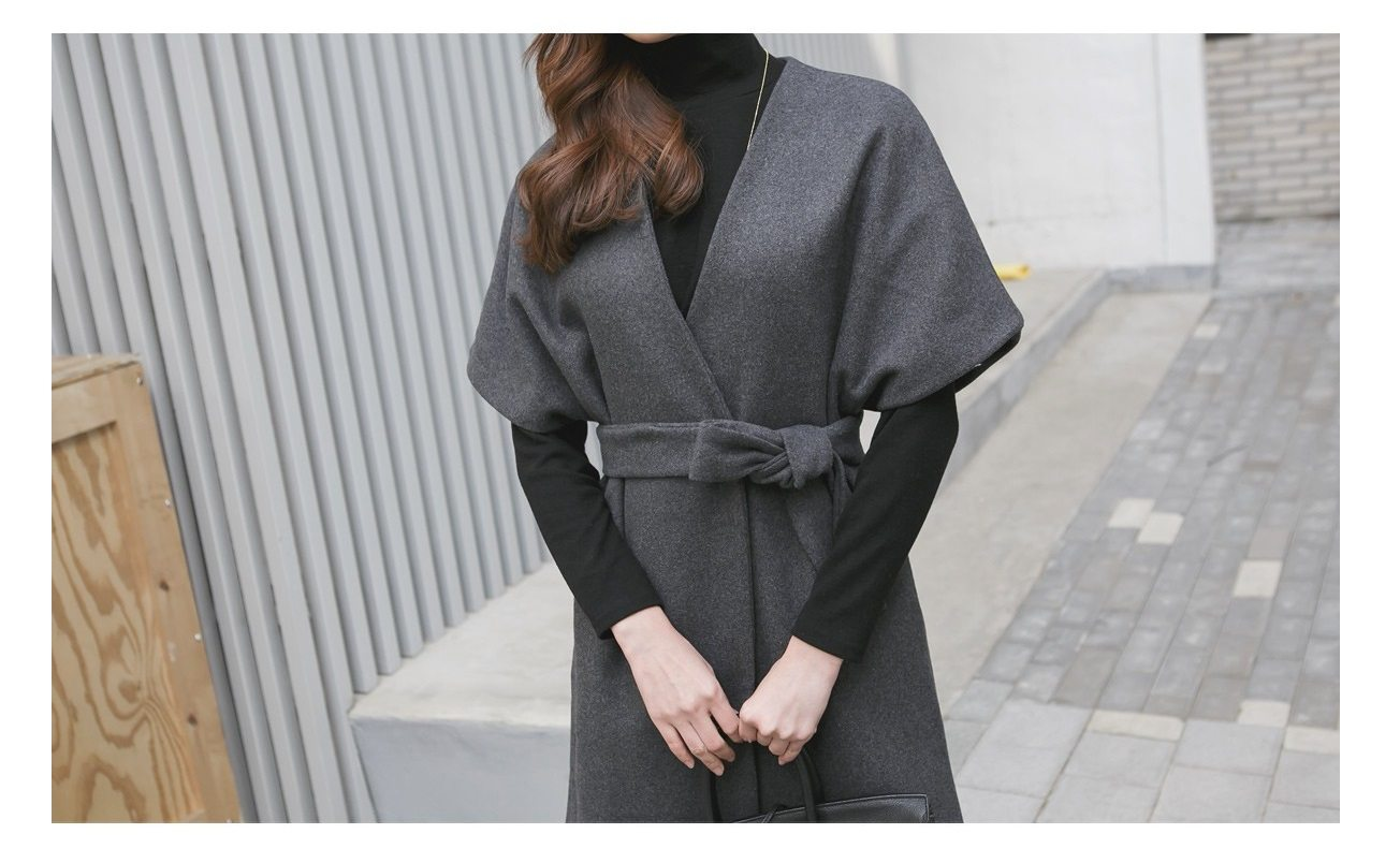 Kale Stingray Belt Coat Korean fasion 2014 online shop malaysia singapore brunei indonesia china5