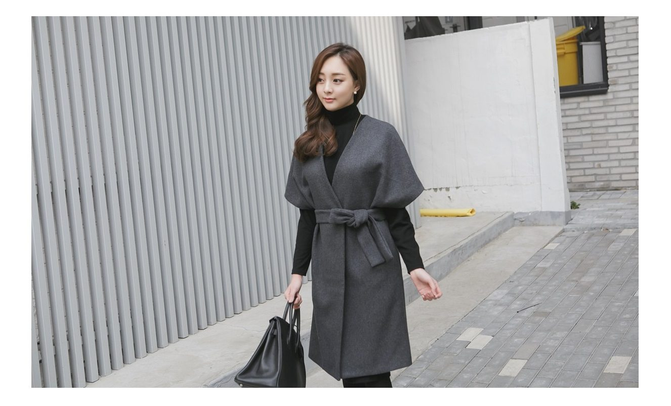 Kale Stingray Belt Coat Korean fasion 2014 online shop malaysia singapore brunei indonesia china6
