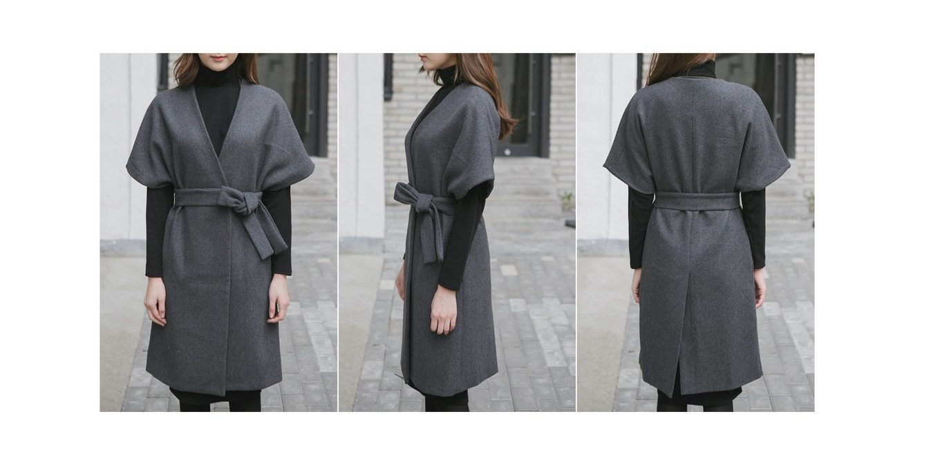 Kale Stingray Belt Coat Korean fasion 2014 online shop malaysia singapore brunei indonesia china8
