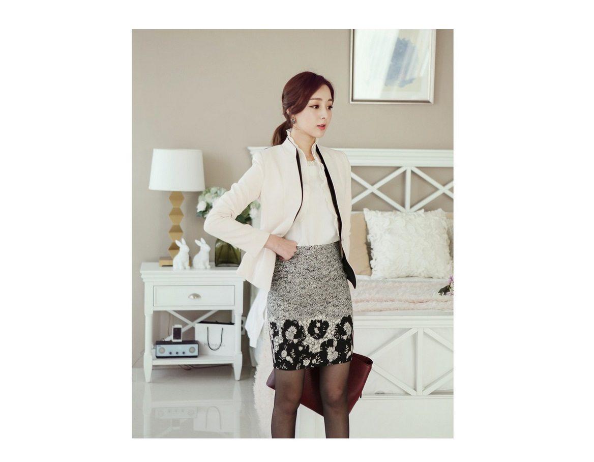 Luxury Detachable Ruffle Jacket Korean fasion online shop malaysia singapore brunei indonesia11