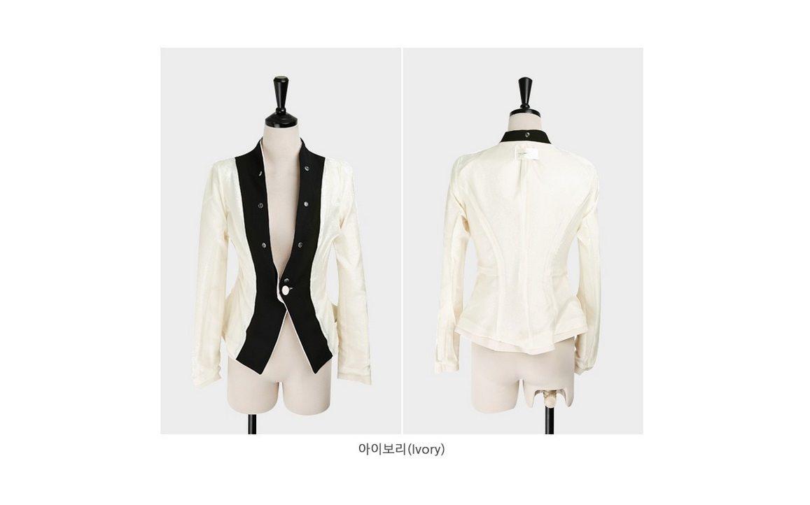 Luxury Detachable Ruffle Jacket Korean fasion online shop malaysia singapore brunei indonesia14