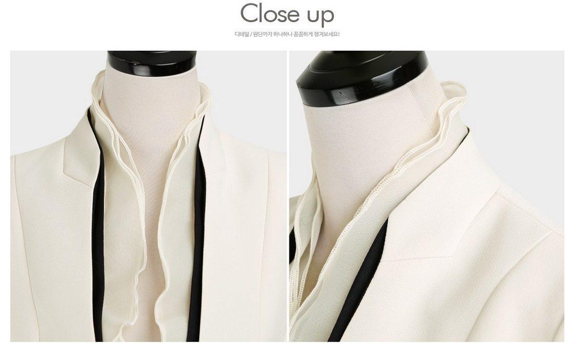 Luxury Detachable Ruffle Jacket Korean fasion online shop malaysia singapore brunei indonesia16