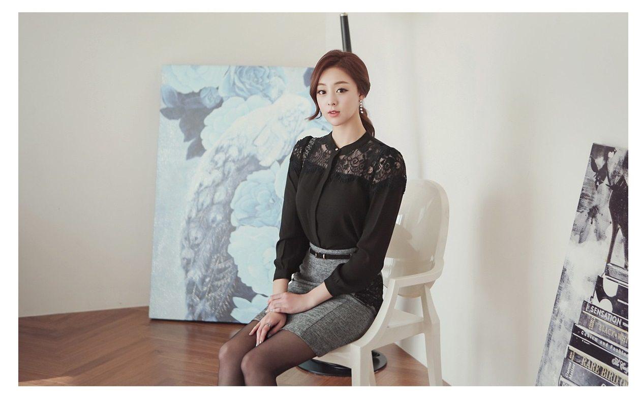 Luxury Detachable Ruffle Jacket Korean fasion online shop malaysia singapore brunei indonesia6