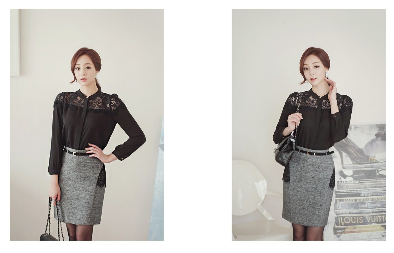 Luxury Detachable Ruffle Jacket Korean fasion online shop malaysia singapore brunei indonesia8