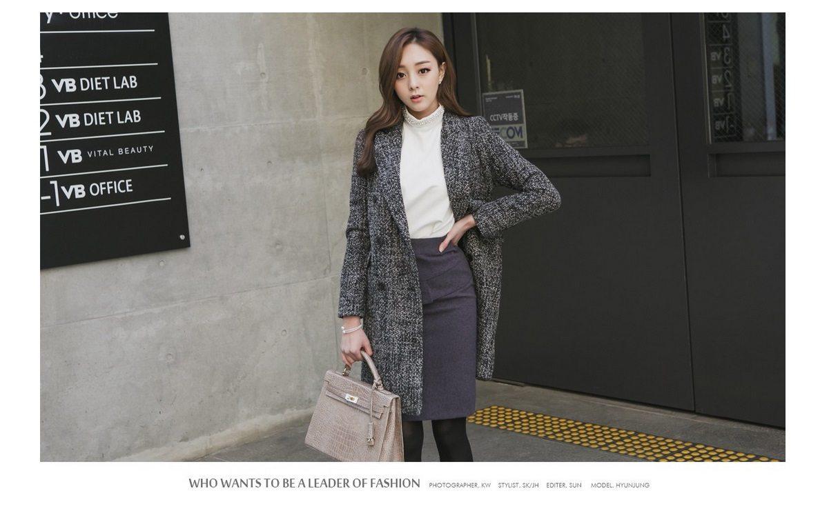 Magic Wool Tweed Coat Korean fasion 2014 online shop malaysia singapore brunei indonesia china1