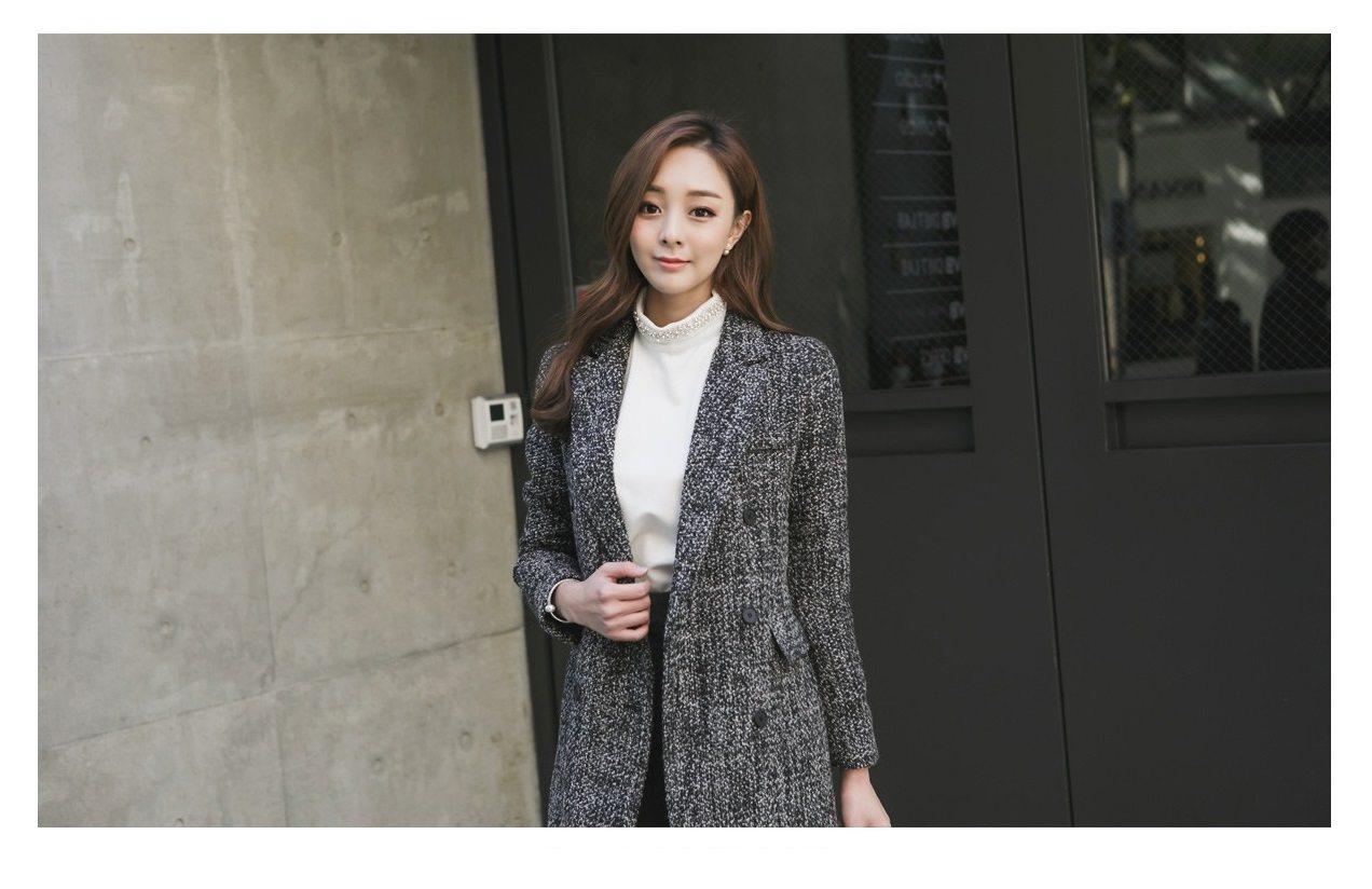 Magic Wool Tweed Coat Korean fasion 2014 online shop malaysia singapore brunei indonesia china4
