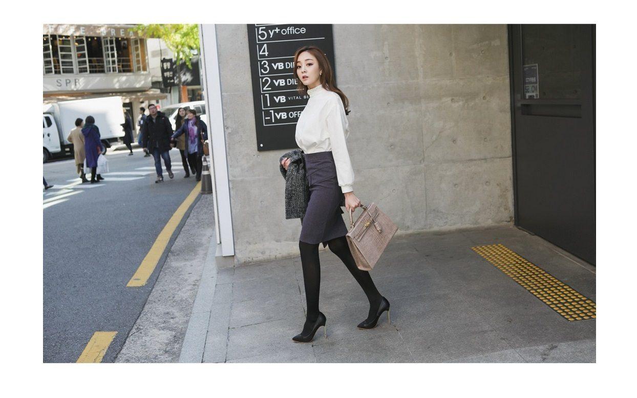 Magic Wool Tweed Coat Korean fasion 2014 online shop malaysia singapore brunei indonesia china6