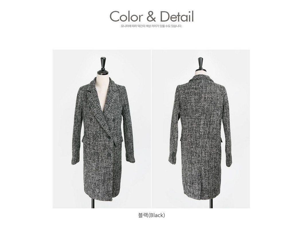 Magic Wool Tweed Coat Korean fasion 2014 online shop malaysia singapore brunei indonesia china8