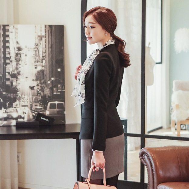 Mode Cut Jacket Korean fasion 2015 online shop malaysia singapore hongkong taiwan china