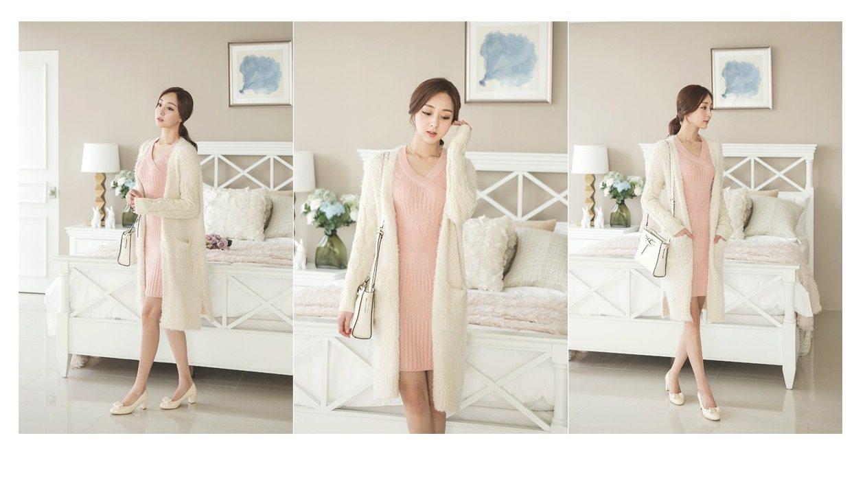 Pogeulyi Knit Long Cardigan Korean fasion 2014 online shop malaysia singapore brunei indonesia (6)