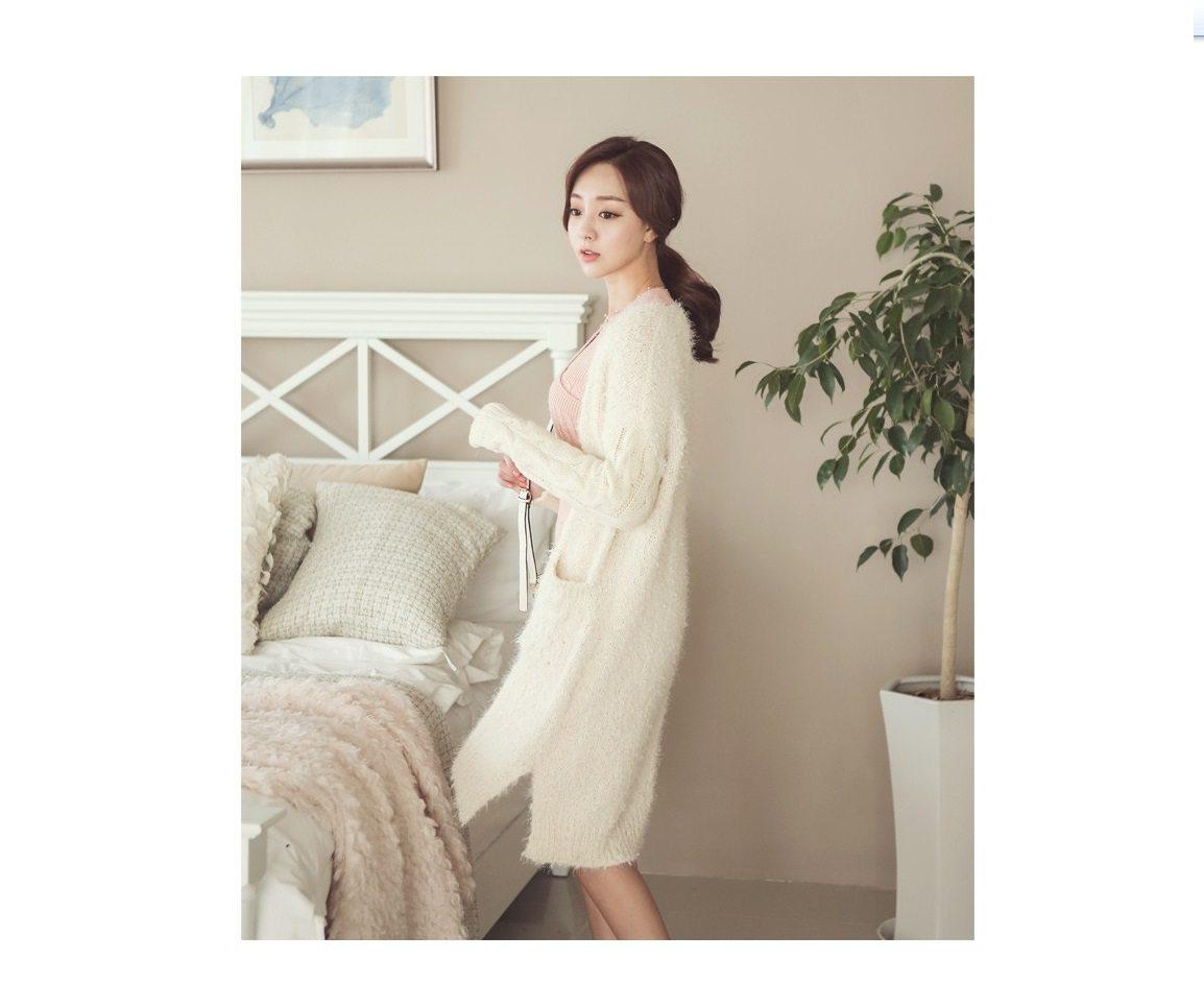 Pogeulyi Knit Long Cardigan Korean fasion 2014 online shop malaysia singapore brunei indonesia (9)