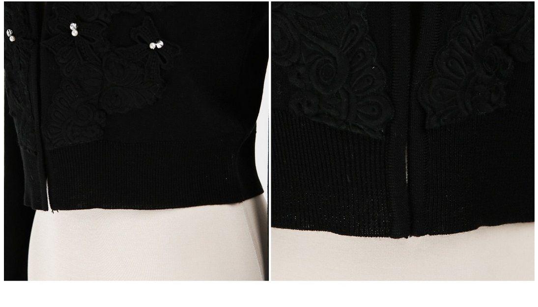 Ribbon Bow Knit Cardigan Korean fasion 2015 online shop malaysia singapore hongkong taiwan china12