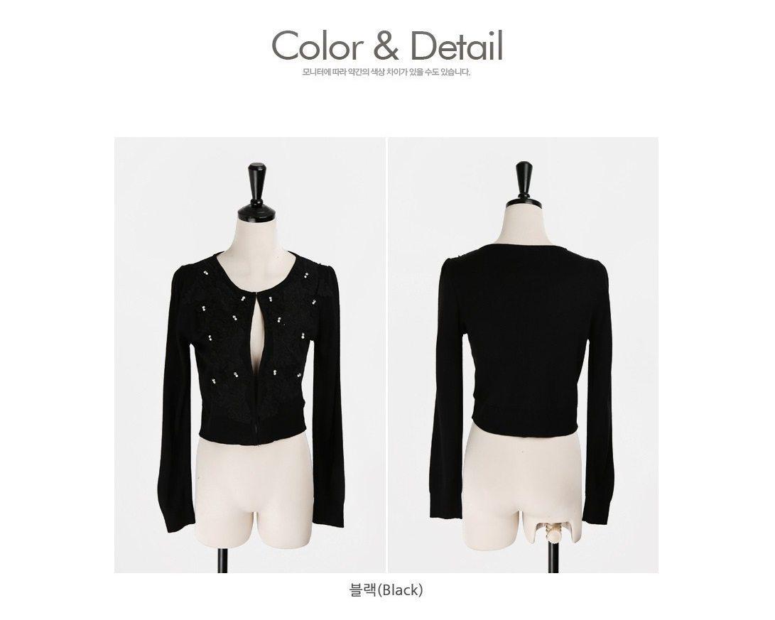 Ribbon Bow Knit Cardigan Korean fasion 2015 online shop malaysia singapore hongkong taiwan china7