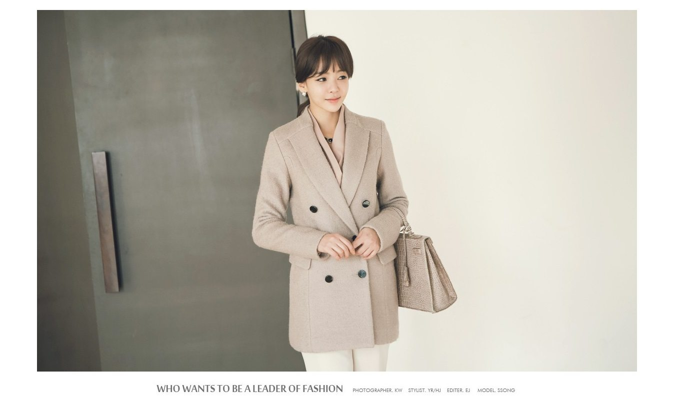Sandra Double Wool Coat Korean fasion 2014 online shop malaysia singapore brunei indonesia china1