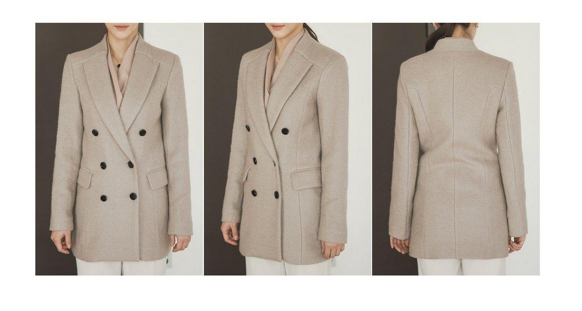 Sandra Double Wool Coat Korean fasion 2014 online shop malaysia singapore brunei indonesia china10