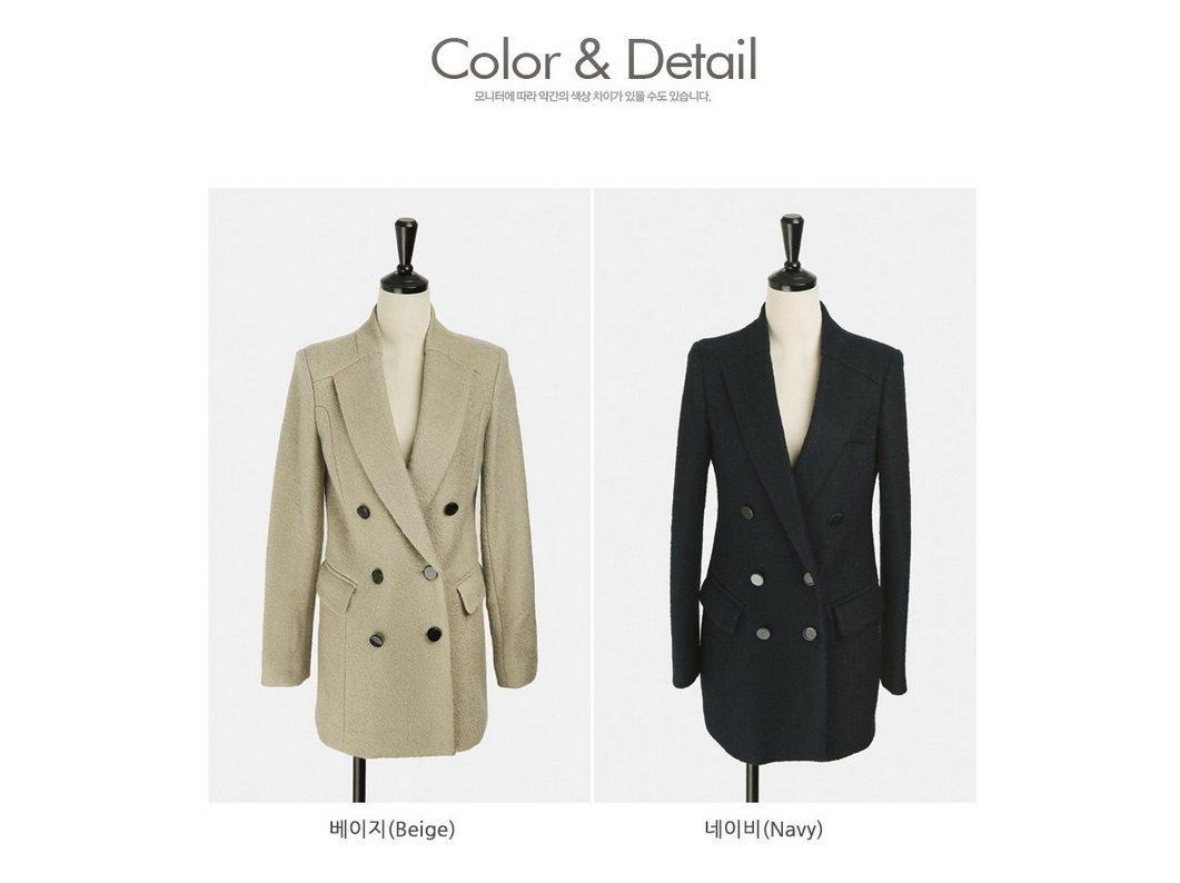 Sandra Double Wool Coat Korean fasion 2014 online shop malaysia singapore brunei indonesia china11
