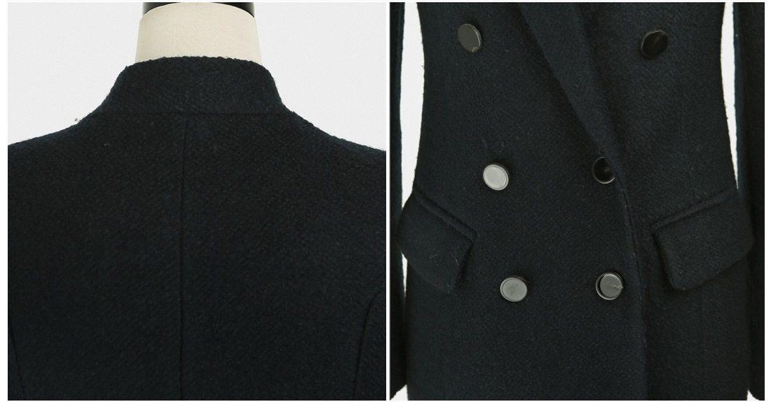 Sandra Double Wool Coat Korean fasion 2014 online shop malaysia singapore brunei indonesia china14