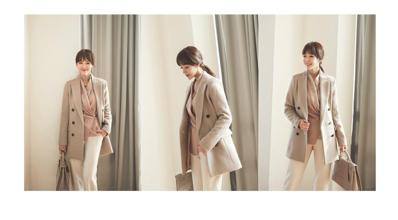 Sandra Double Wool Coat Korean fasion 2014 online shop malaysia singapore brunei indonesia china4