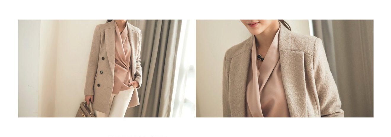 Sandra Double Wool Coat Korean fasion 2014 online shop malaysia singapore brunei indonesia china5
