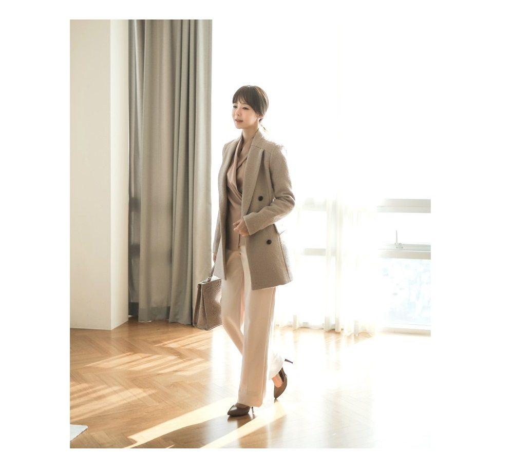 Sandra Double Wool Coat Korean fasion 2014 online shop malaysia singapore brunei indonesia china7
