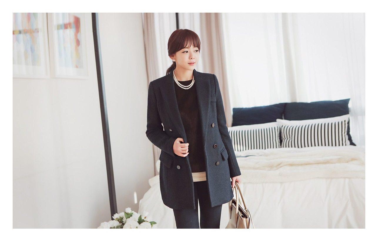 Sandra Double Wool Coat Korean fasion 2014 online shop malaysia singapore brunei indonesia china8