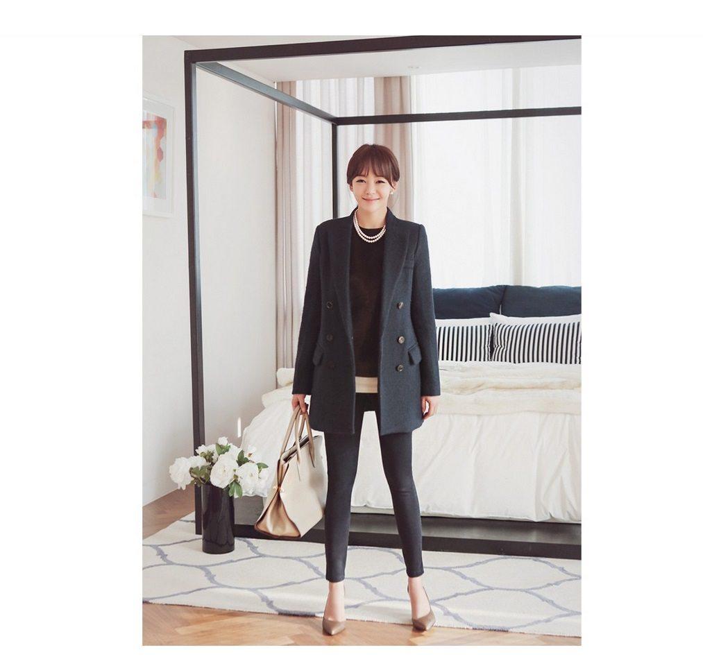 Sandra Double Wool Coat Korean fasion 2014 online shop malaysia singapore brunei indonesia china9