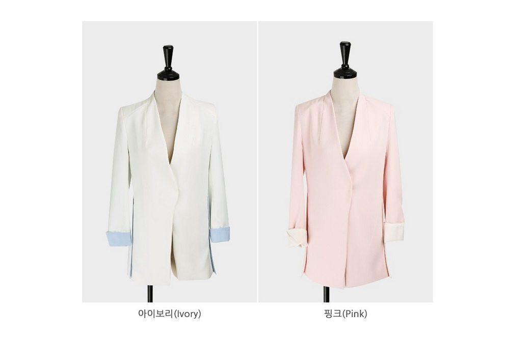 Soul Nokara Color Jacket Korean Fashion Online Shop Malaysia