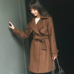 Tales Wool Trench Coat Korean fasion 2014 online shop malaysia singapore brunei indonesia china