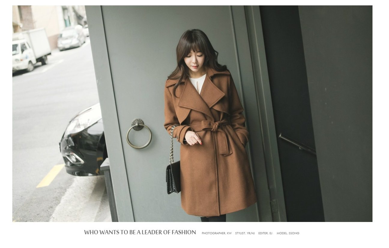 Tales Wool Trench Coat Korean fasion 2014 online shop malaysia singapore brunei indonesia china1