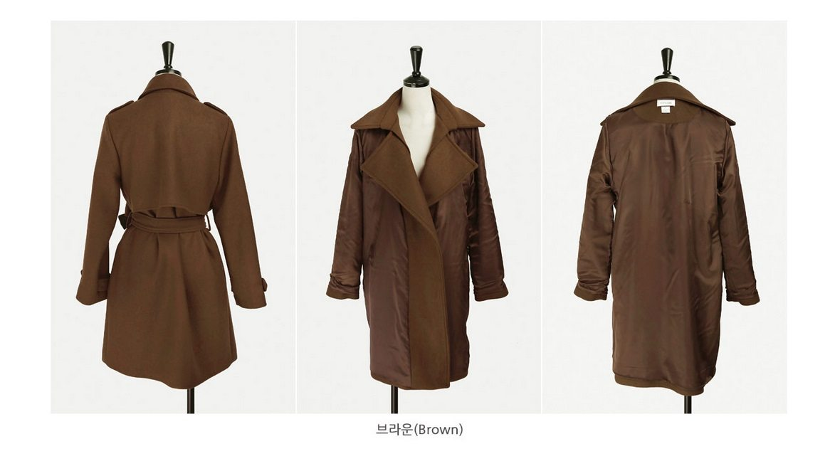 Tales Wool Trench Coat Korean fasion 2014 online shop malaysia singapore brunei indonesia china10