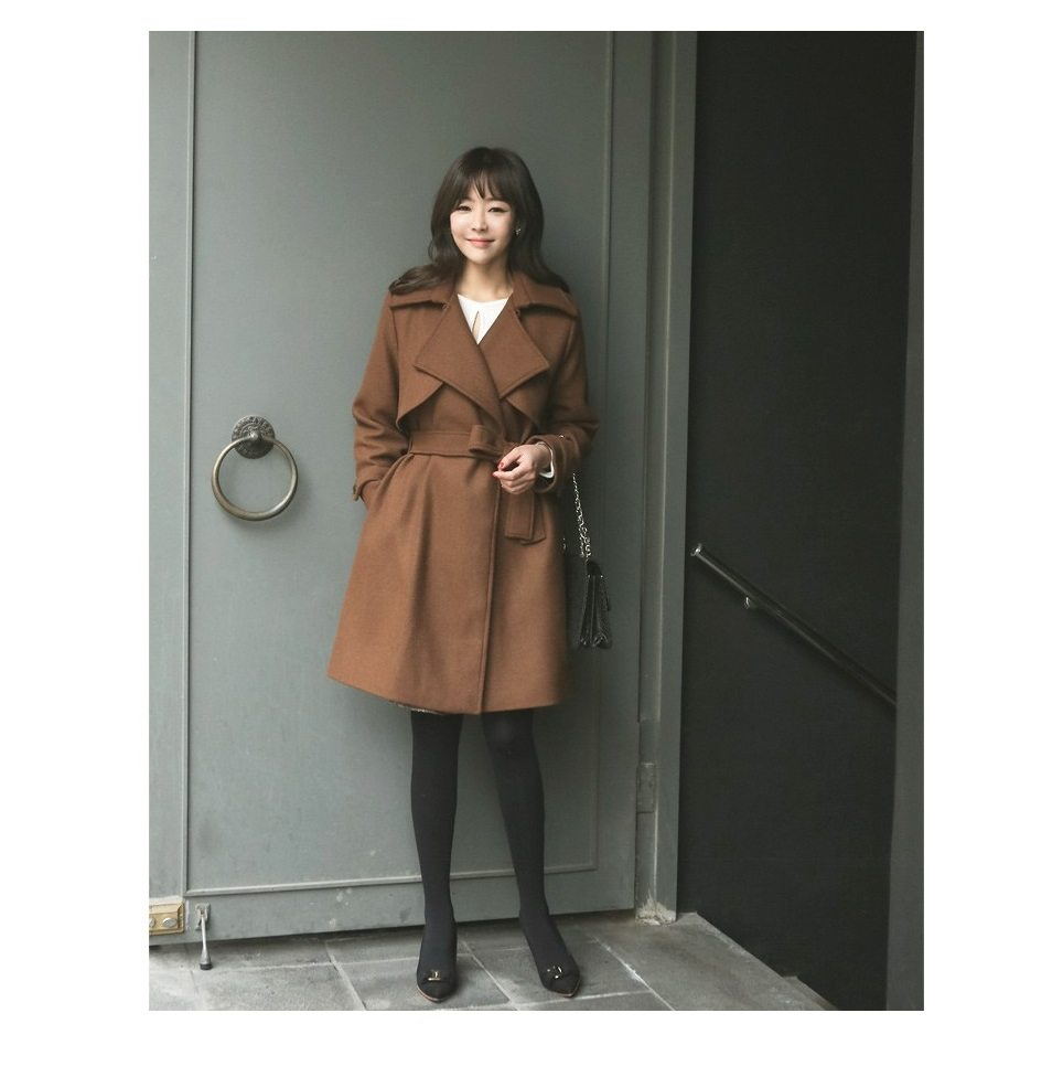 Tales Wool Trench Coat Korean fasion 2014 online shop malaysia singapore brunei indonesia china3
