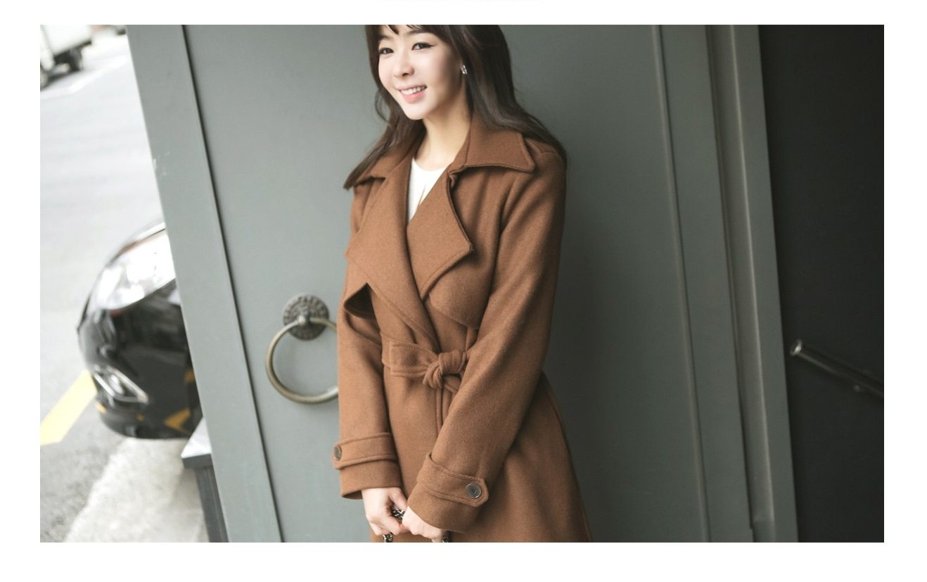 Tales Wool Trench Coat Korean fasion 2014 online shop malaysia singapore brunei indonesia china4