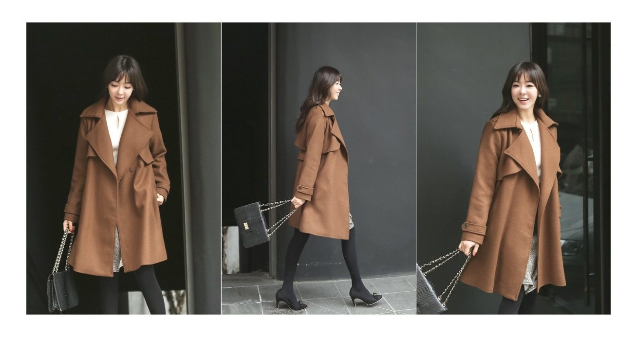 Tales Wool Trench Coat Korean fasion 2014 online shop malaysia singapore brunei indonesia china5