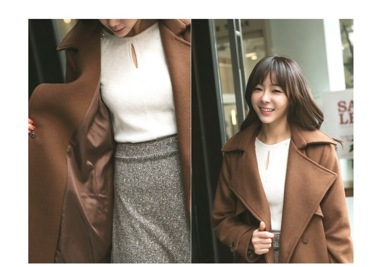 Tales Wool Trench Coat Korean fasion 2014 online shop malaysia singapore brunei indonesia china6