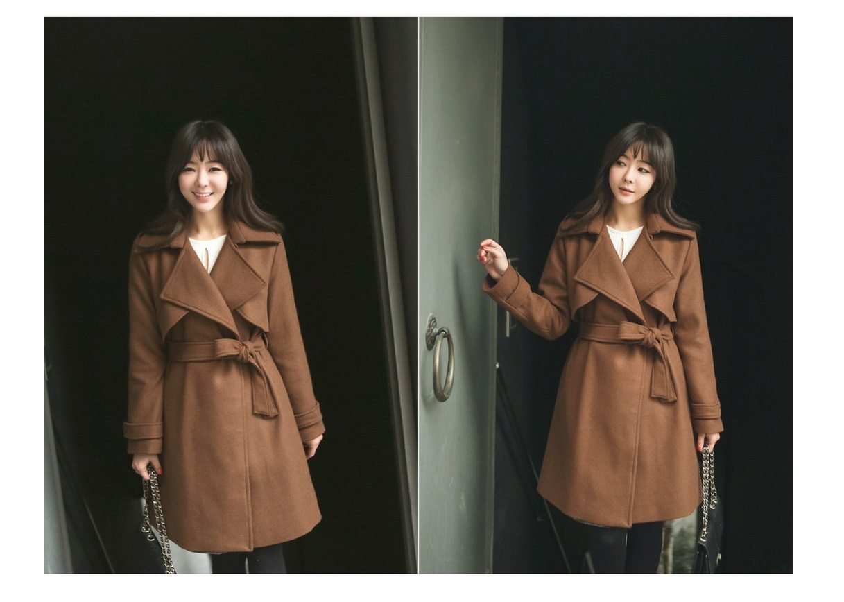Tales Wool Trench Coat Korean fasion 2014 online shop malaysia singapore brunei indonesia china7