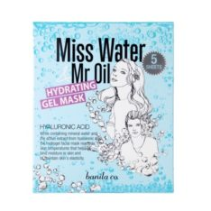 Banila Co. Miss Water and Mr Oil Hydrating Gel Mask korean cosmetic skincare online shop malaysia singapore indonesia