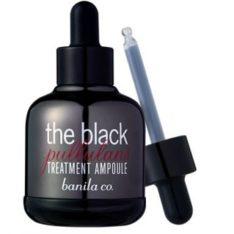 Banila Co. The Black Pullulans Treatment Ampoule 50ml korean cosmetic skincare product online shop malaysia singapore indonesia